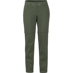 Marmot Kodachrome Pantalones convertibles Mujer, Oliva